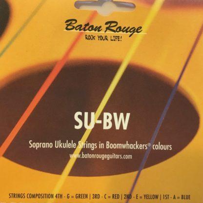 Pakke med farvede strenge til ukulele