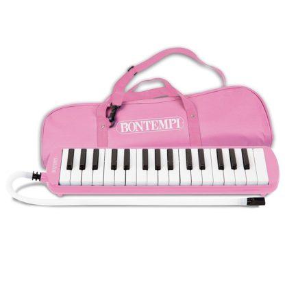 Pink mundklaver med taske