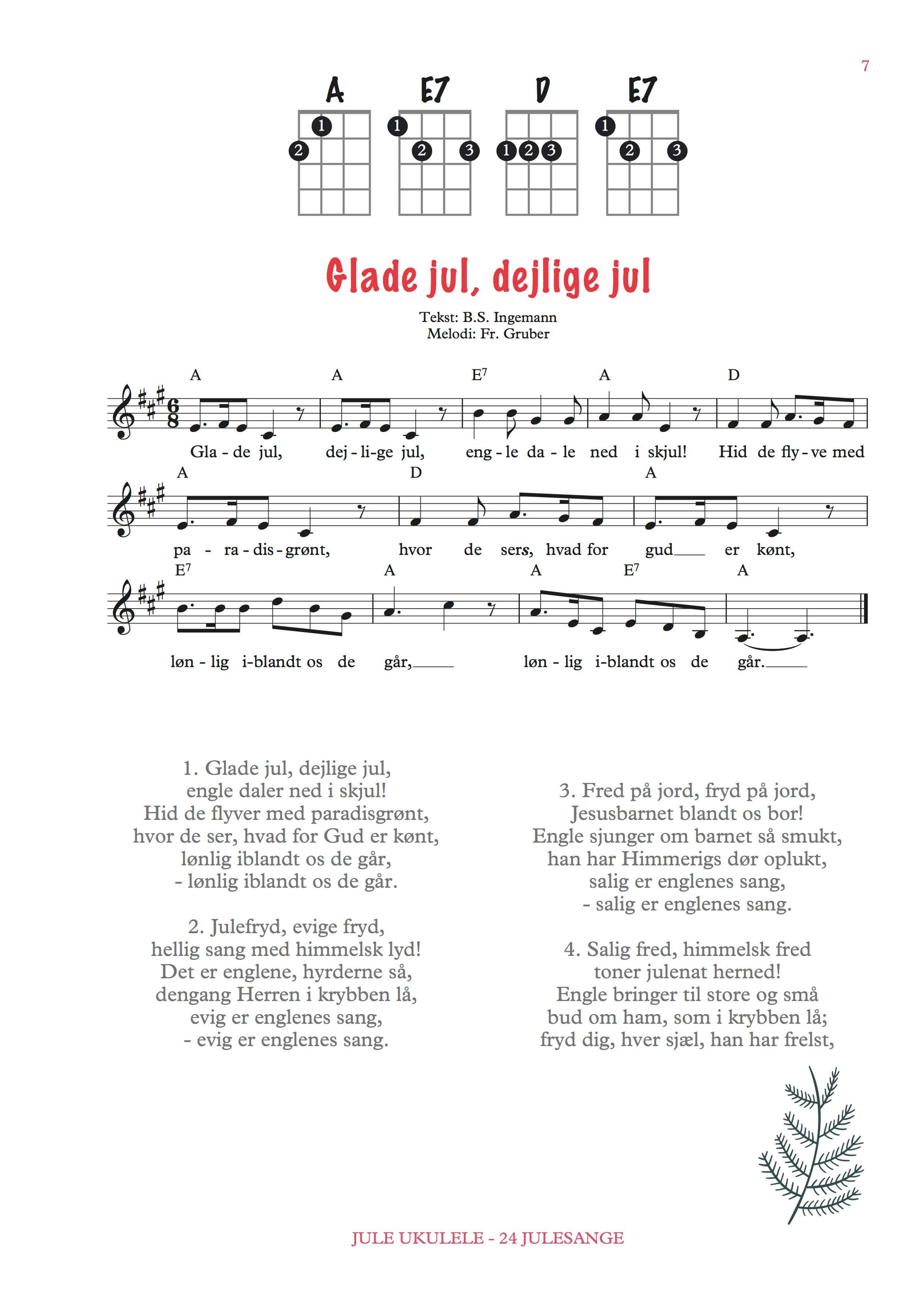 Jule-ukulele