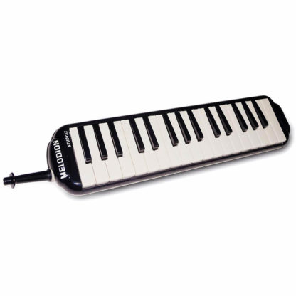 Sort melodica med 32 tangenter