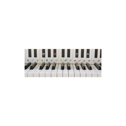 Tangentstrimmel til klaver