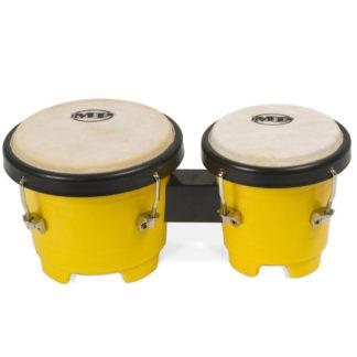 Bongotromme i gul plast