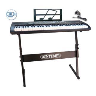 Keyboard med stativ