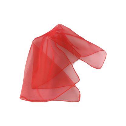 Rødt rytmiktørklæde