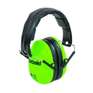 Grønne høreværn til børn