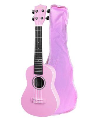 smuk rosa ukulele i grand concert størrelse