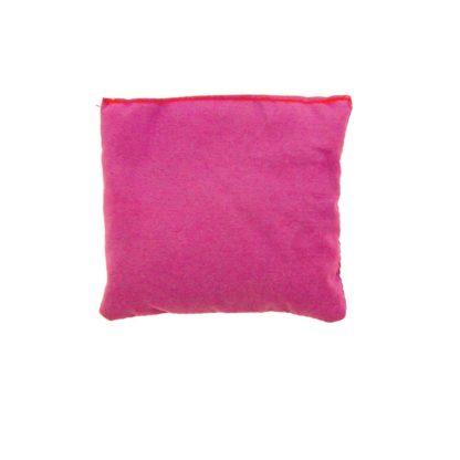 Kvadratisk ærtepose i lilla