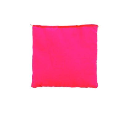 Kvadratisk ærtepose i pink