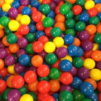 Farvede bolde til boldbad 7 cm