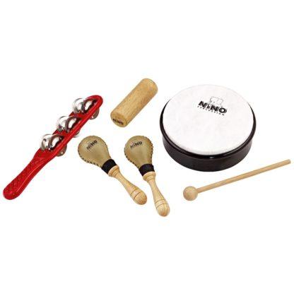 Rytmesæt med percussioninstrumenter