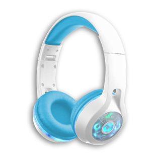 Trådløse hovedtelefoner i blå og hvid til børn