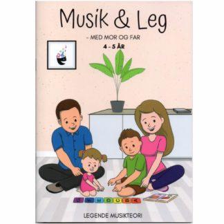 idebog med musikalske aktiviteter til børnehavebørn g deres forældre