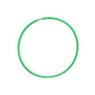 Grøn/hvis hulahopring 60 cm i diameter