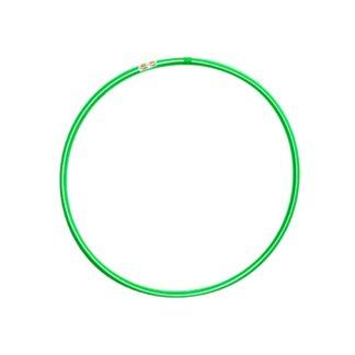 Hulahopring hvid/grøn 80 cm i diameter