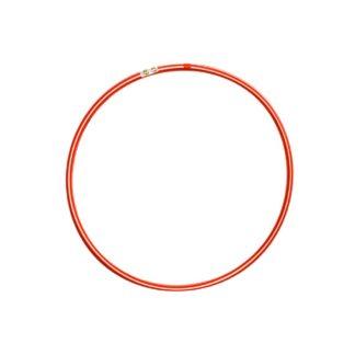 Rød/hvid hulahopring 60 cm i diameter