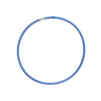 Hulahopring hvid/blå 80 cm i diameter