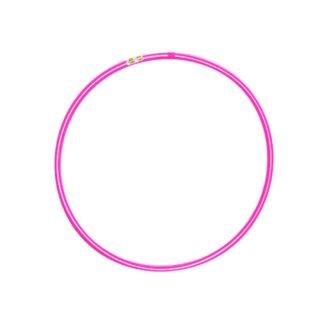 Hulahopring hvid/pink 80 cm i diameter