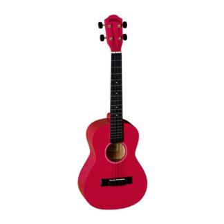 Rød tenorukulele