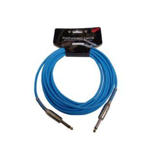 Blåt jack-jack-kabel 6 meter