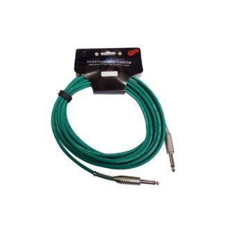 Grønt jack-jack-kabel 6 meter
