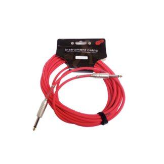 Rødt jack-jack-kabel 6 meter