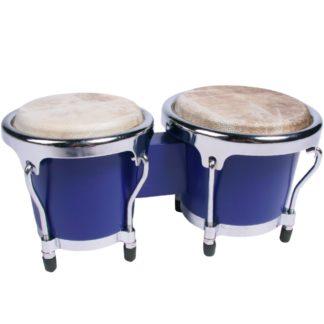 Mini-bongotrommer i blå