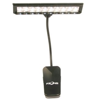 nodelampe med bredt lys