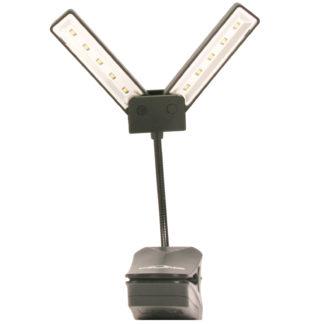 Stor nodelampe som kan foldes sammen