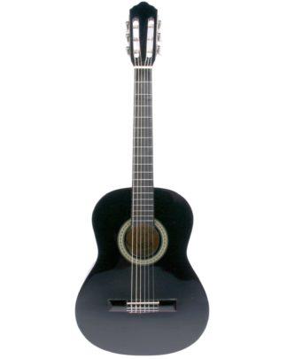 Sort guitar til børn og begyndere