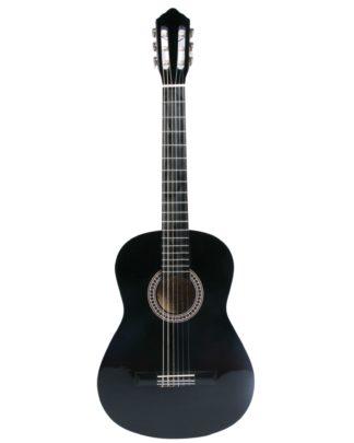 lavpris akustisk guitar sort