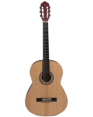 spansk guitar med smal hals