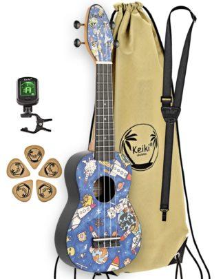 ukulelepakke spaceman