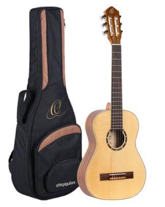 Børneguitar nylon pakke med guitartaske og instrument