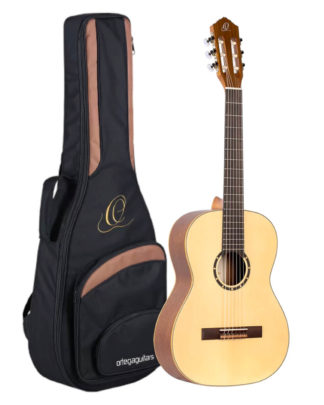 Junior nylon guitar pakke med guitar og taske