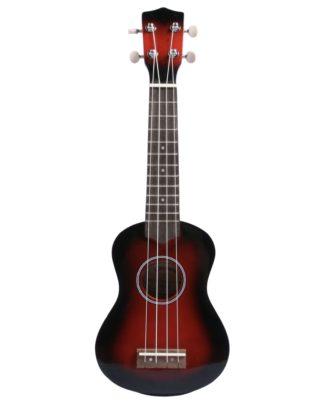 rød ukulele