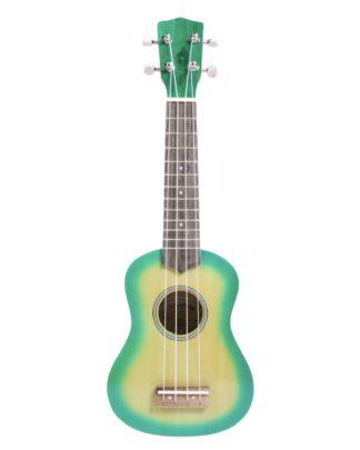 grøn ukulele