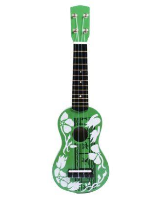 grøn legetøjsukulele