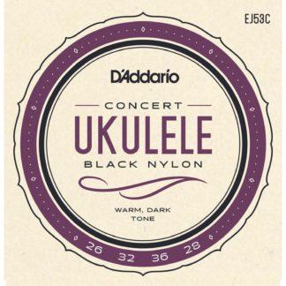 strenge til ukulele i koncertstørrelse