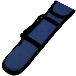 mørkeblå blokfløjtetaske