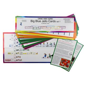 Store blue jello kort fra Music Mind Games