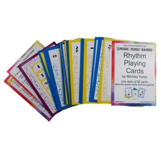 rytme spillekort til music mind games