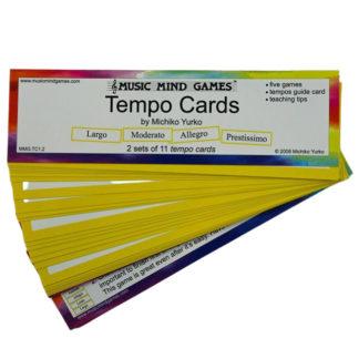 tempo kort til music mind games