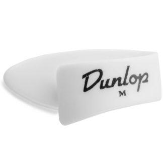 tommelplekter i hvid fra Dunlop