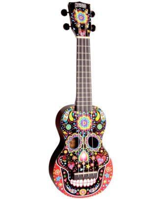 farverig ukulele