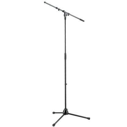 Mikrofonstativ med teleskobisk boomarm