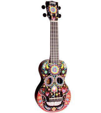 kranieformet ukulele