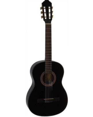 3/4 spansk guitar i sort