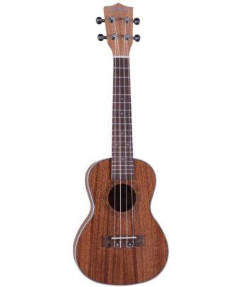 concert ukulele I mørkt træ fra Santana