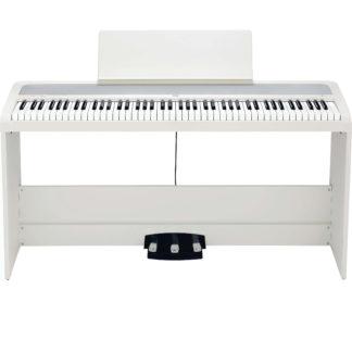 digital klaver i hvid fra korg