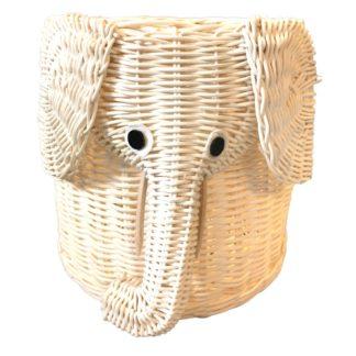 Fletkurv – elefant – sød fletkurv udformet som elefant